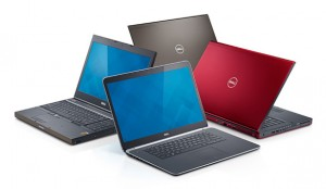 Laptop Dell Precision M3800 waży około 2 kg, a jego wysokość wynosi jedynie 20 mm wraz z nóżkami